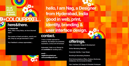 13 Colorful Website Design
