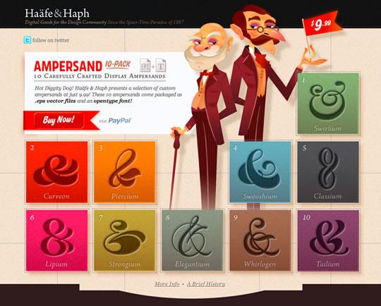 14 Colorful Webdesign