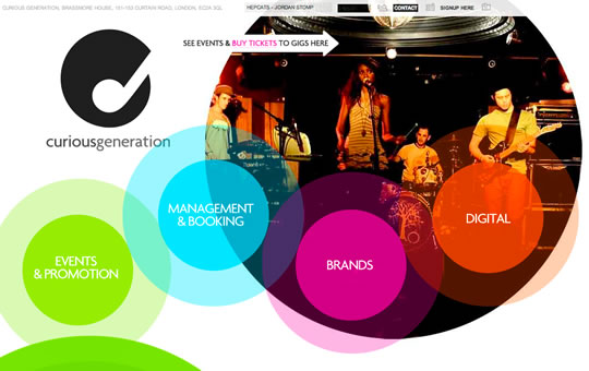 15 Colorful Webdesign