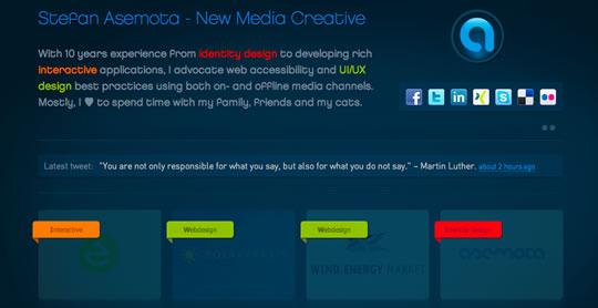 17Colorful Webdesign