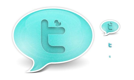 21 Twitter Icon Set