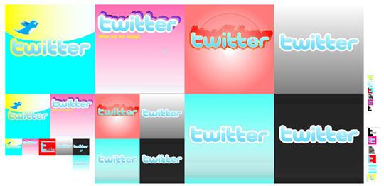 28 Twitter Icon Set