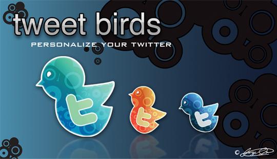 33 Twitter Icon Set