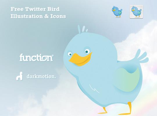 45 Twitter Icon Set