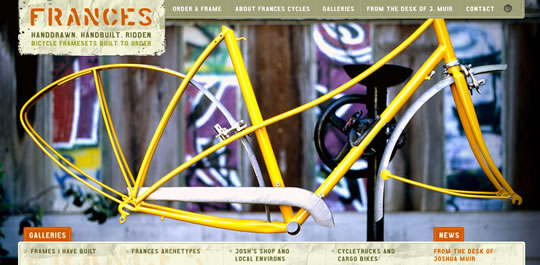 7 Colorful Webdesign