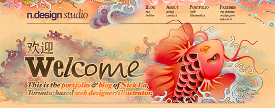 1 Colorful Webdesign