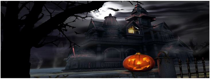 Halloween Town Facebook Cover