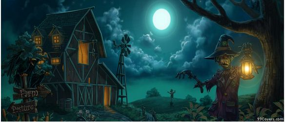 Halloween Farm Facebook Cover