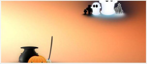 Halloween Ghosts Facebook Timeline Cover