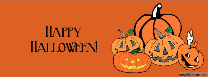 Halloween Pumpkins Background fb cover