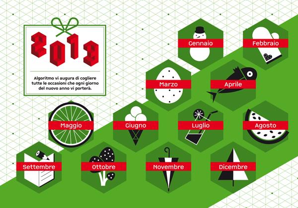 Calendario Algoritmo 2013