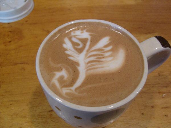 Flying Dragon Latte