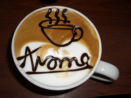 Latte Art Aroma