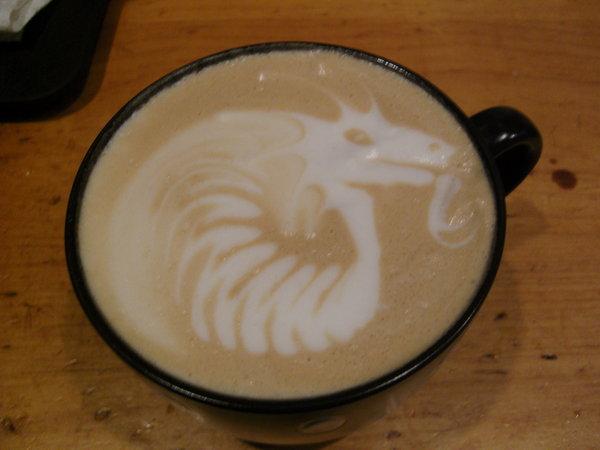 Side Dragon Latte