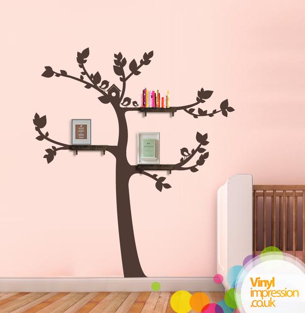 Kids Tree with Birds