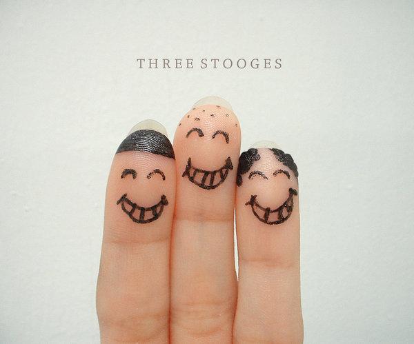 Happy Three Stoogies