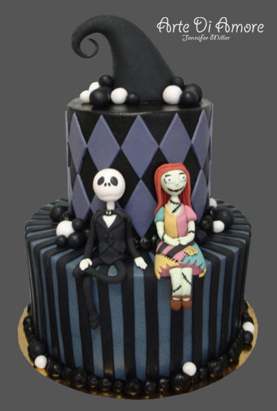 Jack and Sally Cake