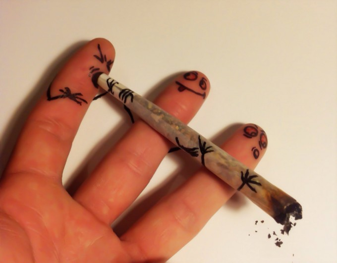 Smoking Fingers