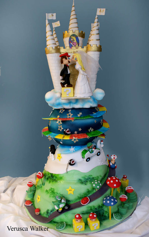 Super Mario Wedding Cake III