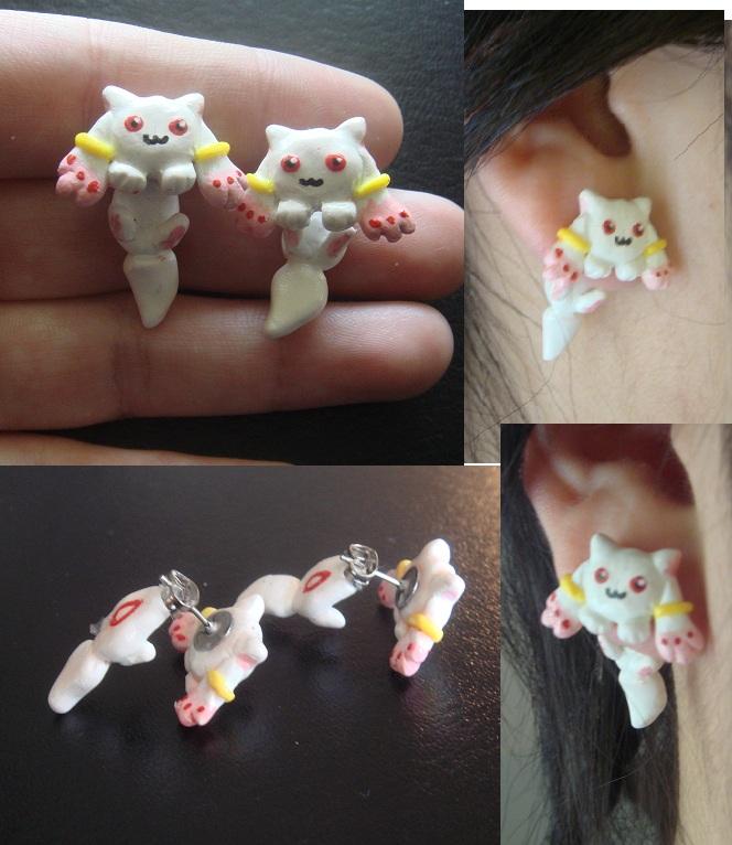 Kyubey Stud Earrings