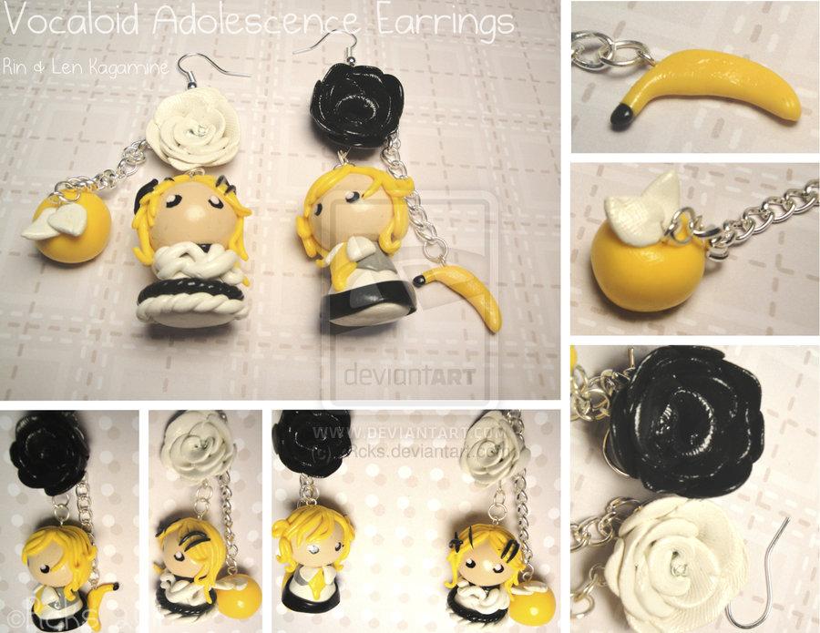Vocaloid Adolescence Earrings