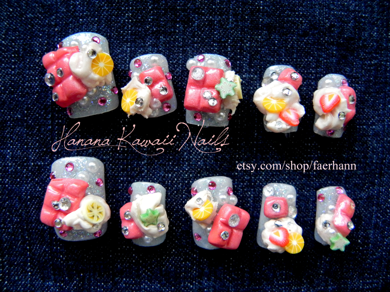 3D Nails: Sweet Delight