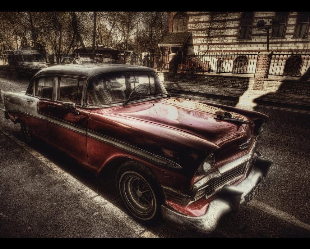 55 Chevrolet Belair- HDR