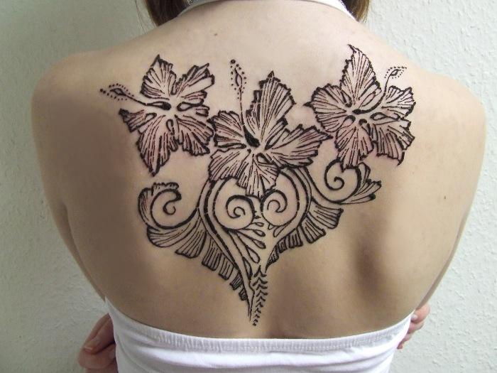 Anna's henna tattoo