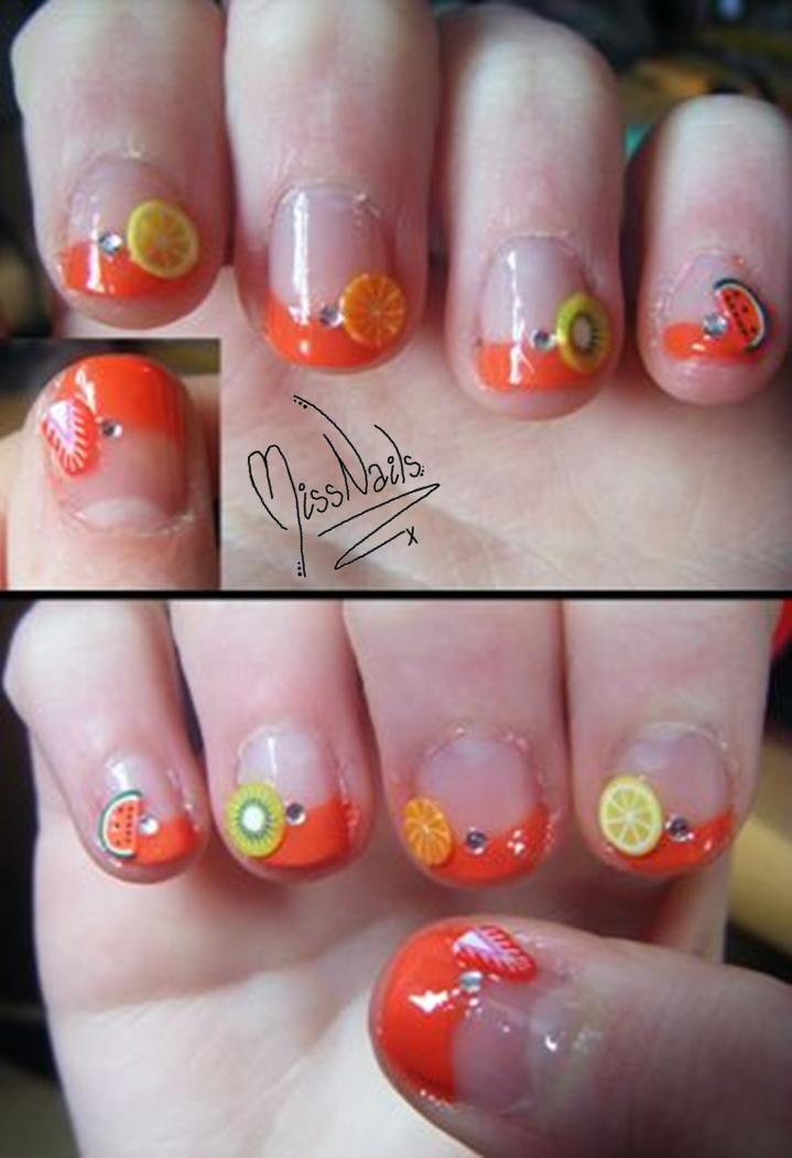 Fimo Fruits experiment