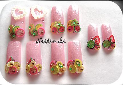 Fruit Nail Set