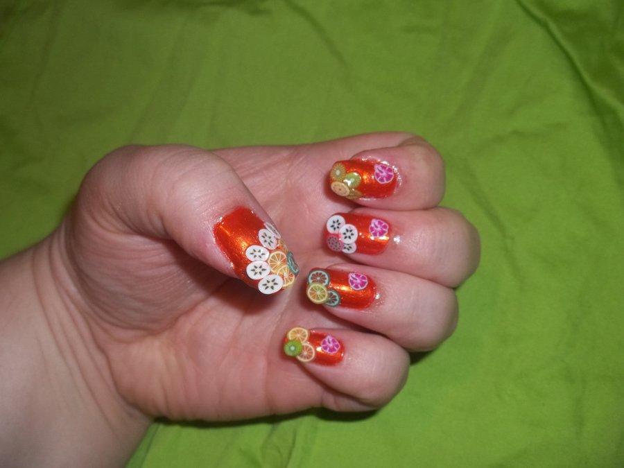 Fruits Nail Art