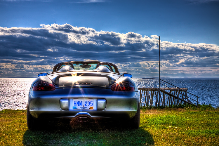 My Porsche Boxster HDR