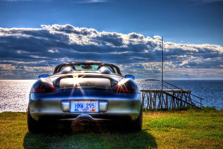 My Porsche Boxster HDR