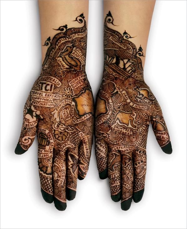 Bridal Henna Hands