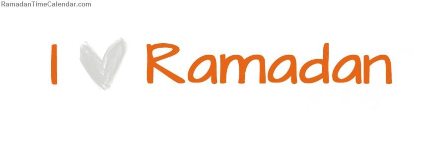I Love Ramadan Fb Cover 2013