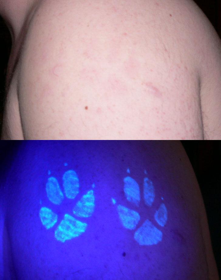 Invisable Tattoo