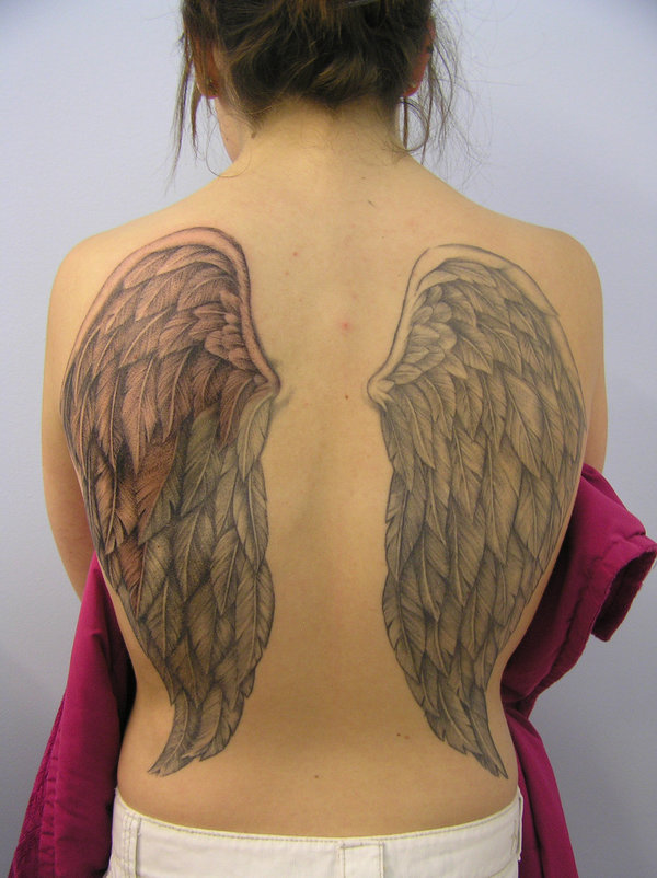 Amanda's Wings Finally Done