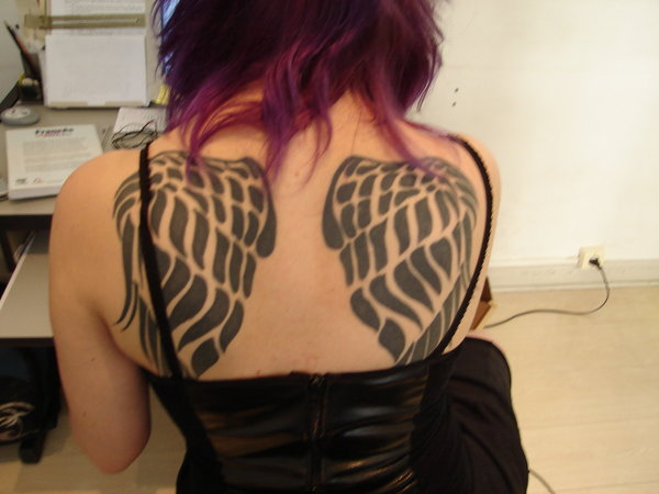Wings Tatoo Tribal