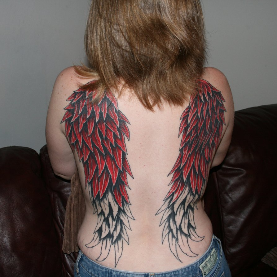More Red in my wings