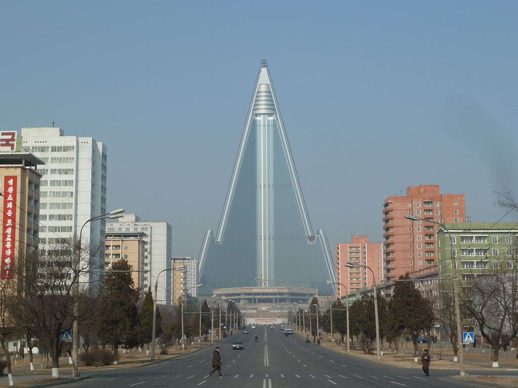 Hotel Ryugyong (Pyongyang, North Korea)