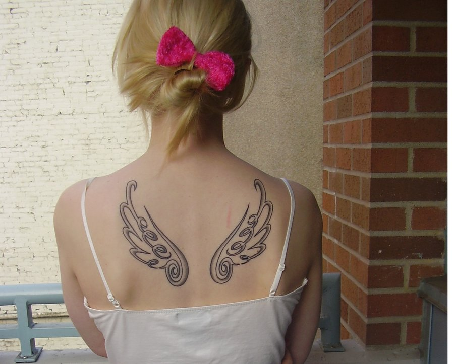 Final fantasy Wing Tattoo