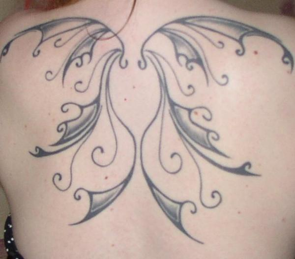 Winged Tattoo