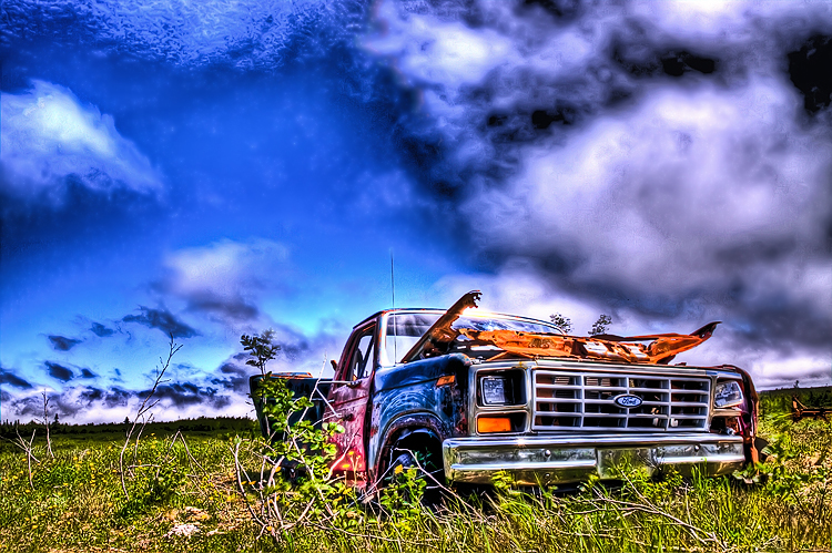 Abandoned Ford HDR