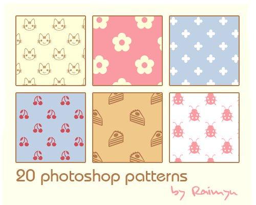 20 Photoshop Patterns