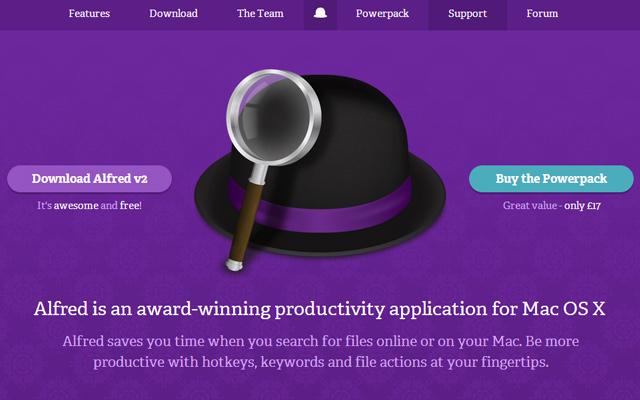Purple Color Website Design
