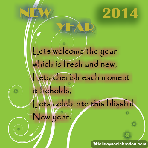 Happy New Year 2014 Greeting Cards 2