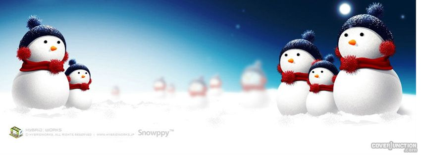 Merry Christmas Snowman Cover