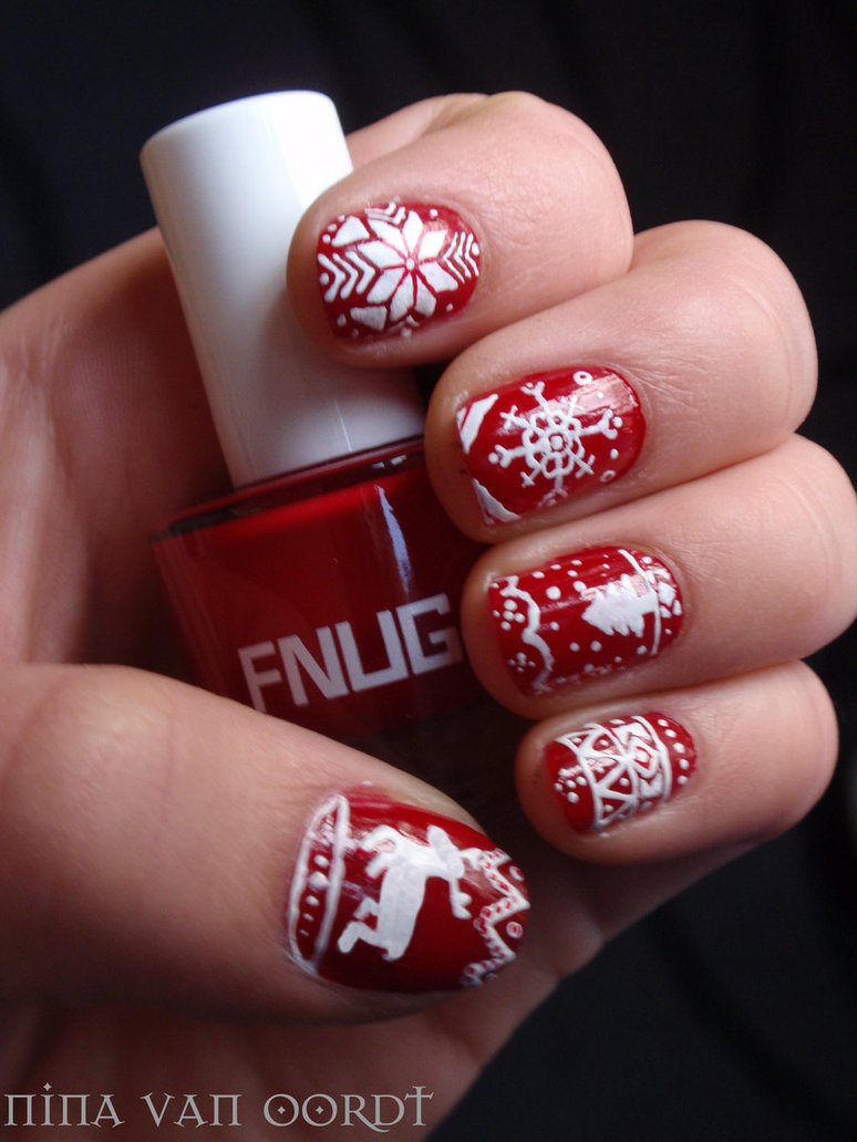 25 super cute christmas nails entertainmentmesh entertainment mesh