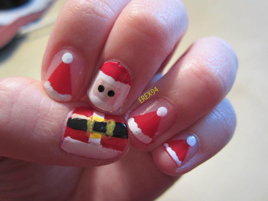 Santa Clause Nails