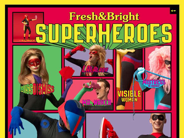 Diesel Fresh & Bright Superheroes